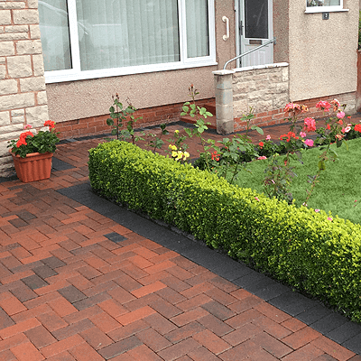 block paving driveways wales