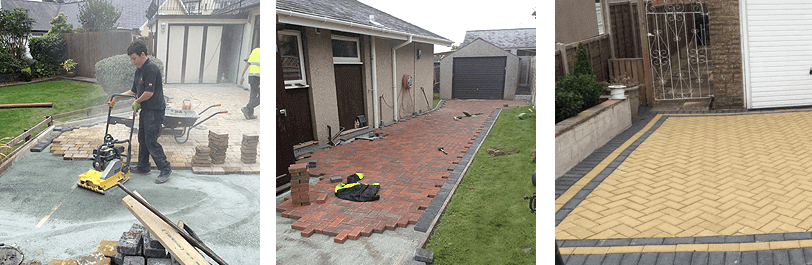 block paving services north wales